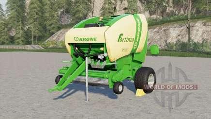 Krone Fortima V 1ⴝ00 for Farming Simulator 2017