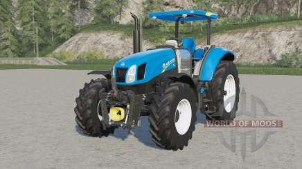 New Holland T6-seriҽs for Farming Simulator 2017