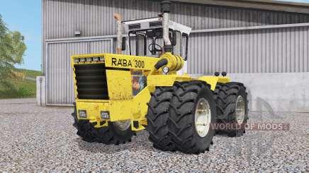 Raba 300 4WD for Farming Simulator 2017