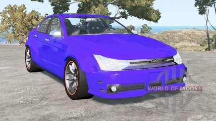 Ford Focus sedan (NA2) 2008 v1.4 for BeamNG Drive