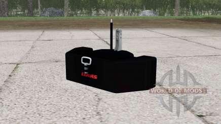 Claas weight v2.0 for Farming Simulator 2015