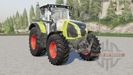 Claas Axioꞑ 800 for Farming Simulator 2017