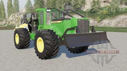 John Deere 948L-II winch for Farming Simulator 2017
