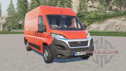 Fiat Ducato Van (290) 2014 for Farming Simulator 2017