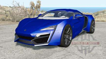 Lykan HyperSport 2014 for BeamNG Drive