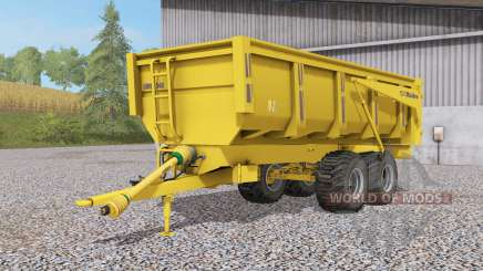 Maitre dump trailer for Farming Simulator 2017