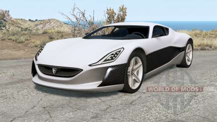 Rimac Concept One for BeamNG Drive