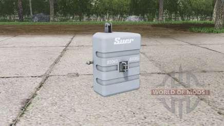 Suer weight 800 kg. for Farming Simulator 2015