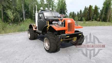 Sil-157 all-terrain vehicle for MudRunner