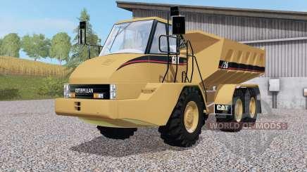 Caterpillar 725 for Farming Simulator 2017