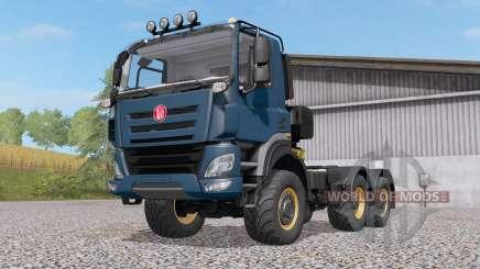 Tatra Phoenix T158 6x6 201ꝝ for Farming Simulator 2017