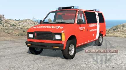 Gavril H-Series German Emergency v1.1 for BeamNG Drive