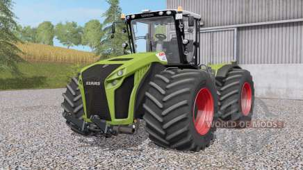 Claas Xerion 4000〡4500〡5000 Traꞇ VC for Farming Simulator 2017