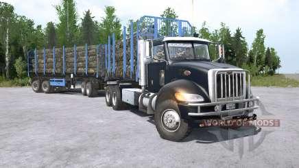 Peterbilt 330 6x6 for MudRunner