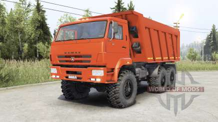Kamaz 65222 for Spin Tires