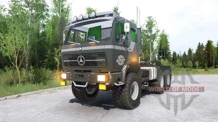 Mercedes-Benz NG 2632 (Br.395) 197Ꝝ for MudRunner