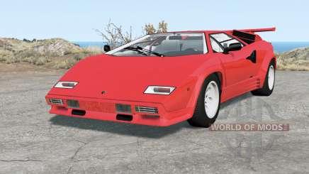 Lamborghini Countach LP5000 S QV 1985 for BeamNG Drive