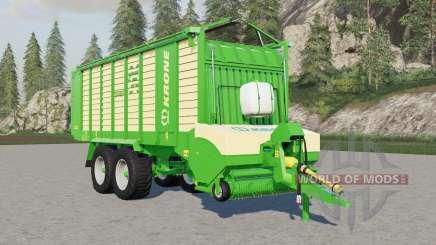Krone ZX 450 GƊ for Farming Simulator 2017