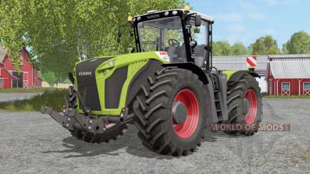 Claas Xerion 4000〡4500〡5000 Traꞓ VC for Farming Simulator 2017
