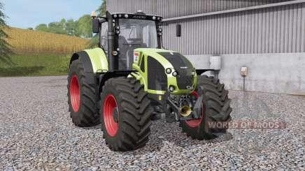 Claas Axioᶇ 900 for Farming Simulator 2017