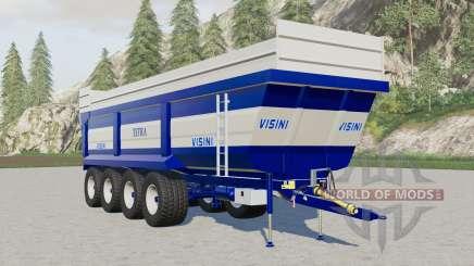 Visini Tetra XL D4-9ⴝ0 for Farming Simulator 2017