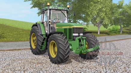 John Deere 7800 & 7৪10 for Farming Simulator 2017