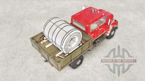 International Harvester Loadstar 1700 Crew Cab for Spin Tires