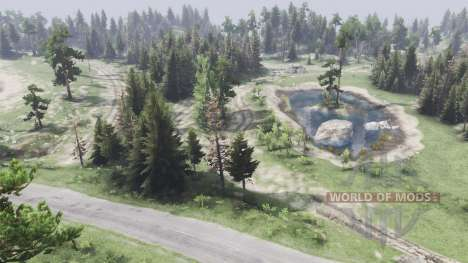 Two lakes for Spin Tires