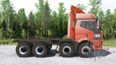 FAW Jiefang J6P 8x8 Truck Tractor for Spintires MudRunner