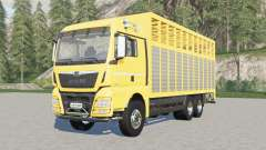 MAN TGX livestock truck for Farming Simulator 2017
