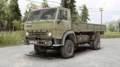 Kamaz 4325 for Spin Tires