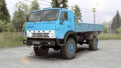 Kamaz 4326 for Spin Tires
