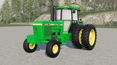 John Deere 4240 & 44ꝝ0 for Farming Simulator 2017