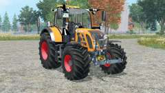 Fendt 718 Vario orange edition for Farming Simulator 2015