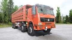 Howo 8x8 dump truck 2008 for MudRunner