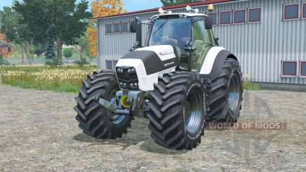 Deutz-Fahr 7250 TTV Agrotron white edition for Farming Simulator 2015