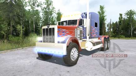 Peterbilt 389 Optimus Prime for MudRunner
