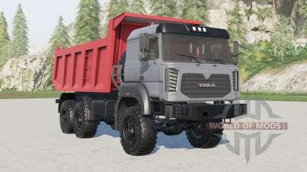Ural 6370K-0121-30E5 for Farming Simulator 2017