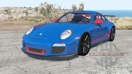 Porsche 911 GT3 RS (997) Ձ009 for BeamNG Drive