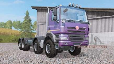 Tatra Phoenix T158 hooklift 8x8 for Farming Simulator 2017