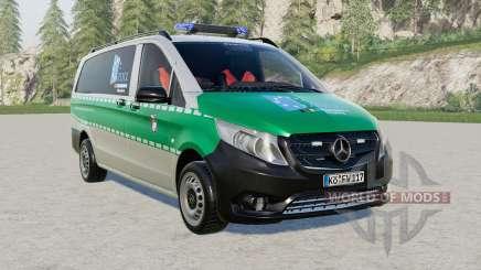 Mercedes-Benz Vito (W447) Hauptzollamt for Farming Simulator 2017