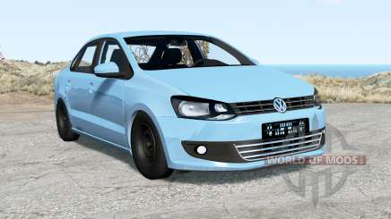 Volkswagen Polo sedan (Typ 6R) 2011 for BeamNG Drive