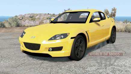 Mazda RX-8 2004 for BeamNG Drive