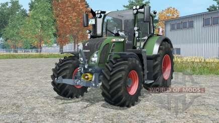 Fendt 718 Variꝋ for Farming Simulator 2015