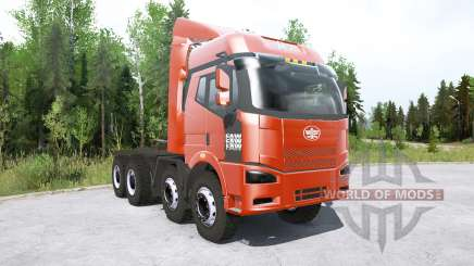 FAW Jiefang J6P 8x8 Truck Tractor for MudRunner