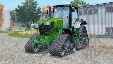 John Deere 7310R crawler modules for Farming Simulator 2015