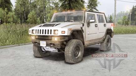 Hummer H2 SUT 2006 for Spin Tires