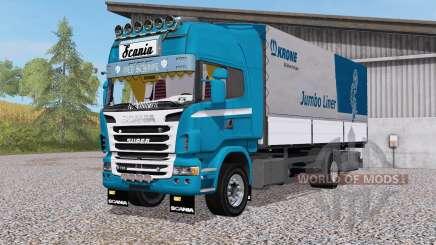 Scania R730 4x4 rigid Topline Cab for Farming Simulator 2017