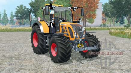 Fendt 718 Vario orange edition for Farming Simulator 2015