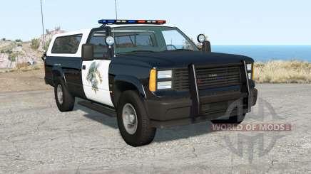 Gavril D-Series California Highway Patrol v1.7 for BeamNG Drive
